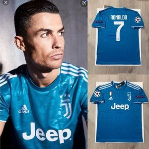 new products de1f0 90fe2 Cristiano Ronaldo #7 soccer jersey Juventus away NWT